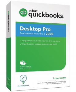QuickBooks Desktop Pro 2020 - 3 User